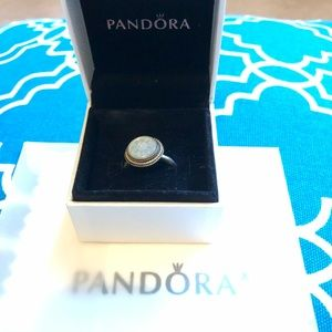 Pandora ring Silver with flower